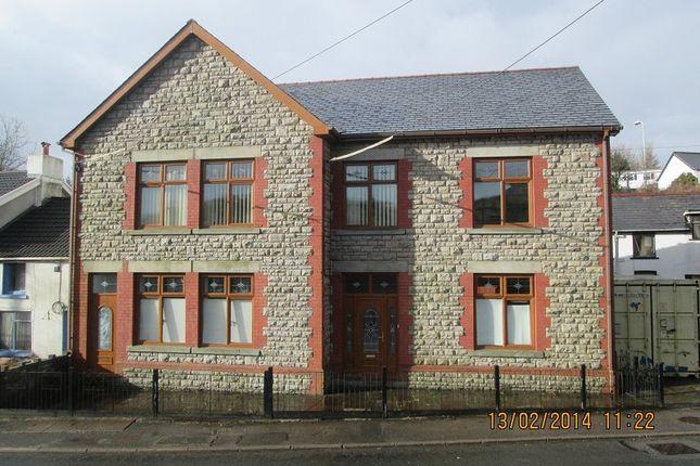 Thumbnail End terrace house for sale in Colliers Arms High Street, Maesteg, Bridgend.