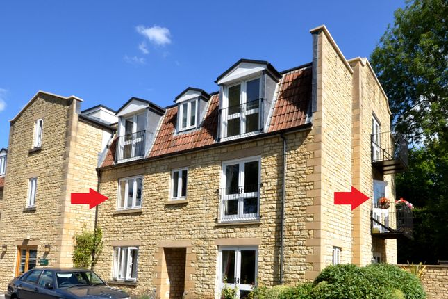 Thumbnail Flat for sale in 22 Kingfisher Court, Avonpark, Limpley Stoke, Bath