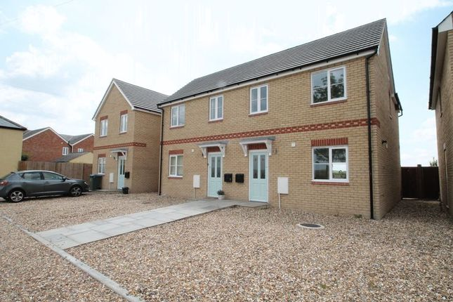 Thumbnail Semi-detached house for sale in Threeways, Northall, Buckinghamshire