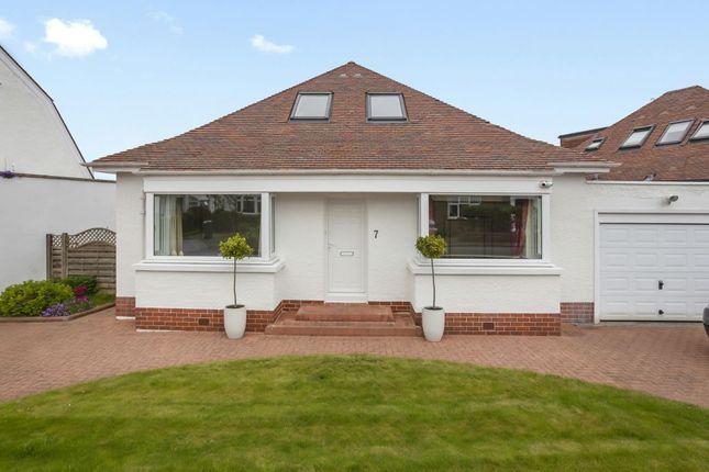 Thumbnail Detached bungalow for sale in 7 Dovecot Park, Colinton, Edinburgh