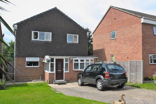 Thumbnail Detached house for sale in St. Swithun Close, Bishops Waltham, Southampton