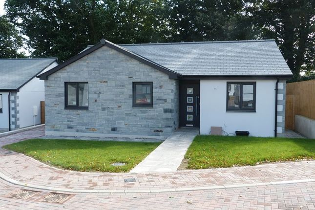 Thumbnail Detached bungalow for sale in Tregay Lane, Liskeard