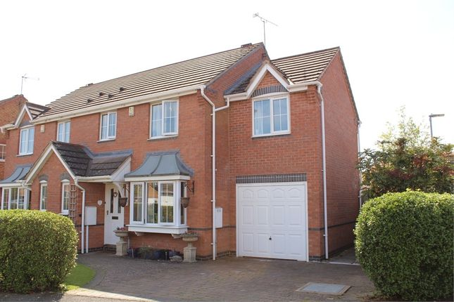 Thumbnail Semi-detached house for sale in Douglas Bader Drive, Lutterworth
