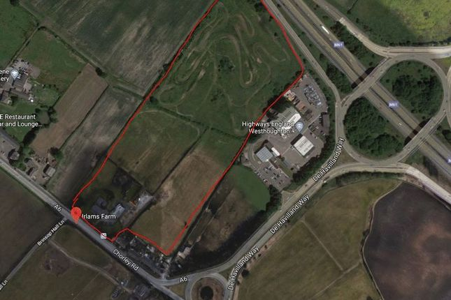 Thumbnail Land for sale in Irlams Farm, Chorley Road, Westhoughton, Bolton, Lancashire.