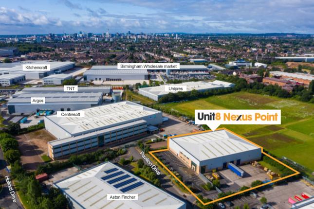 Thumbnail Industrial to let in Unit 8 Nexus Point, Birmingham