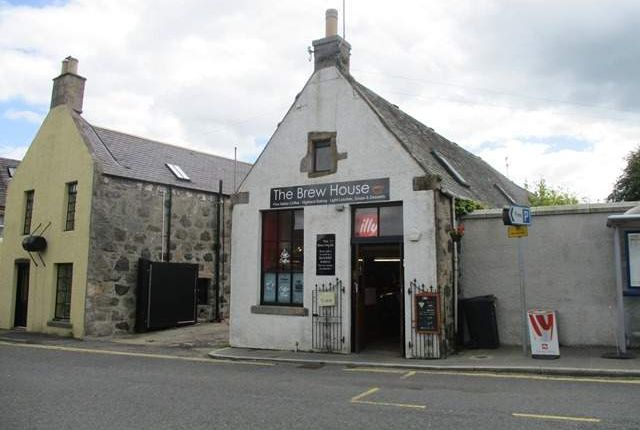 Thumbnail Retail premises for sale in Newbarns, Urquhart Road, Oldmeldrum, Inverurie