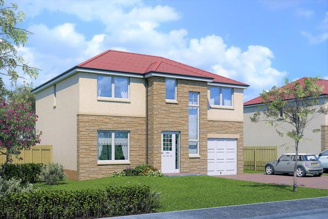 Thumbnail Detached house for sale in Walnut House Type, Ballochney Brae, Plains, Plains