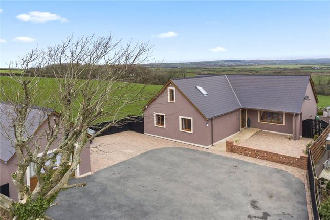 Thumbnail Detached bungalow for sale in Serendipity, Rosehill, Portfield Gate, Haverfordwest