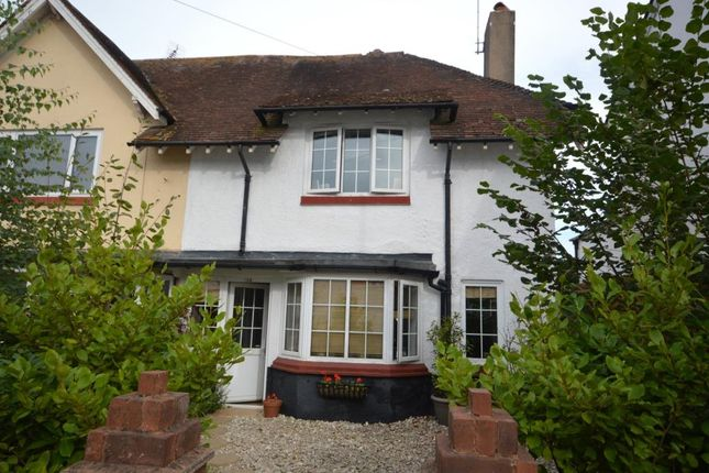 Thumbnail End terrace house for sale in Temple Street, Sidmouth, Devon