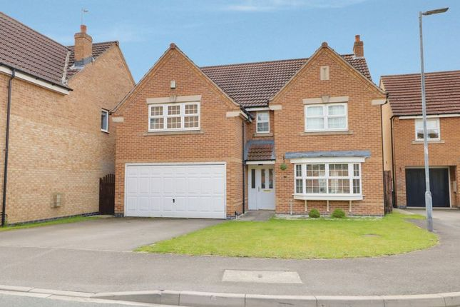 Thumbnail Detached house to rent in Thornton Close, Market Weighton, York