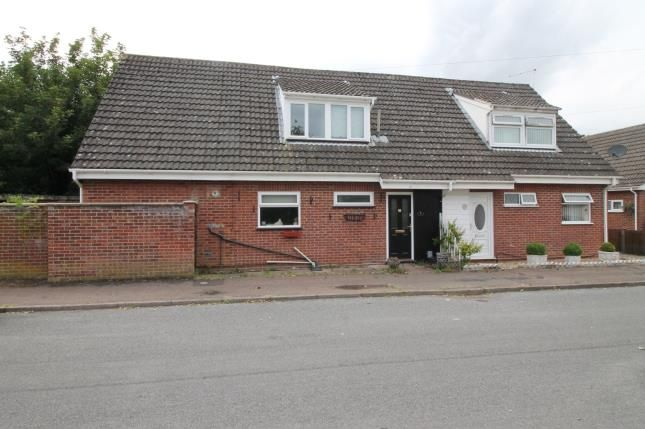 Thumbnail Bungalow for sale in Hammond Close, Sprowston, Norwich