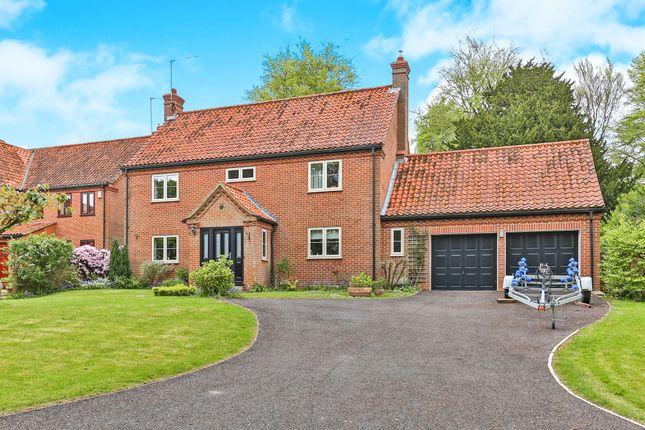 Thumbnail Detached house for sale in Becks Wood, Harpley, King's Lynn