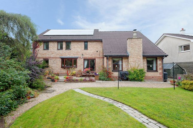 Thumbnail Detached house for sale in New Trows Road, Lesmahagow, South Lanarkshire