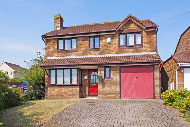 Thumbnail Detached house for sale in Walnut Close, Exminster, Exeter