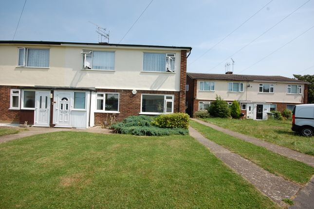 Thumbnail Maisonette to rent in Bridgehouse Close, Wickford