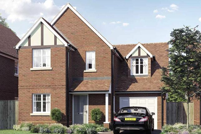 Thumbnail Detached house for sale in Oak Apples, Elgar Avenue, Crowthorne, Berkshire