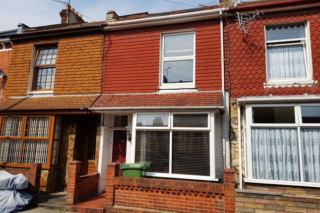 Thumbnail Terraced house to rent in Mafeking Road, Southsea