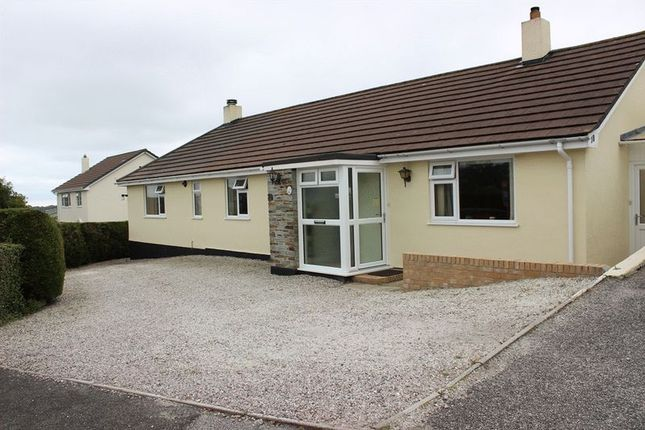 Thumbnail Bungalow for sale in Chipponds Drive, St. Austell
