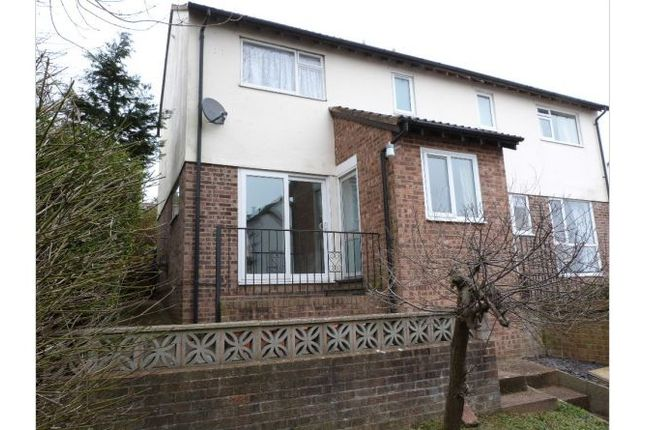 Thumbnail Semi-detached house to rent in Higher Exwick Hill, Exeter