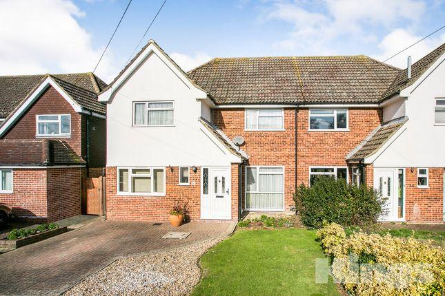 Thumbnail Semi-detached house for sale in Estridge Way, Tonbridge