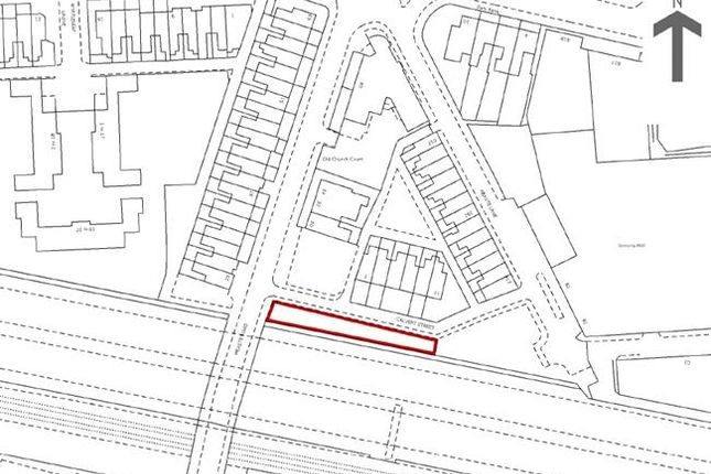 Thumbnail Land for sale in Land On South Side Of, Calvert Street, Salford, Greater Manchester