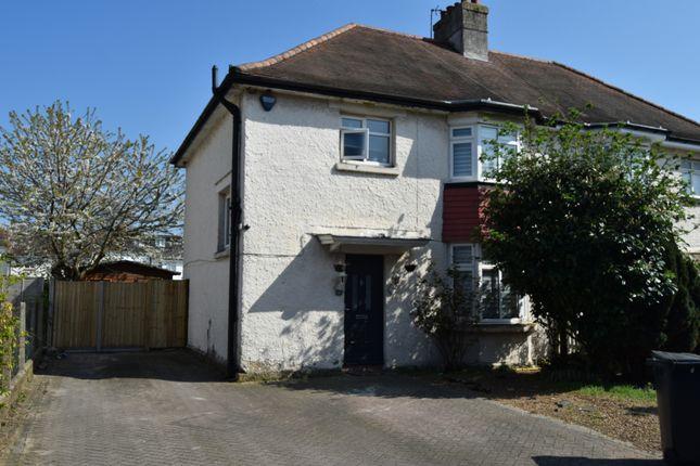 Thumbnail Semi-detached house for sale in Southgate Avenue, Feltham