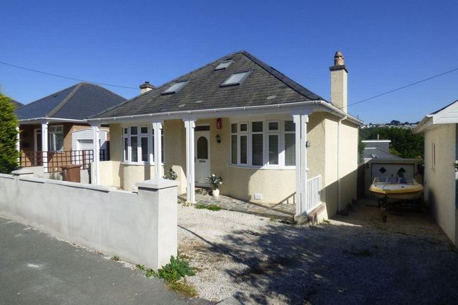 Thumbnail Detached bungalow to rent in Greatfield Road, Plymouth