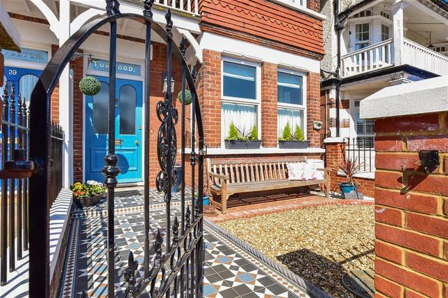 Thumbnail Semi-detached house for sale in West Cliff Road, Broadstairs, Kent