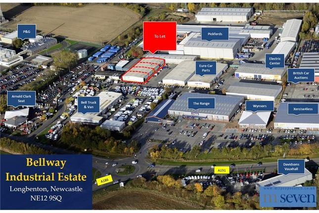 Thumbnail Industrial to let in Unit 4-7, Bellway Industrial Estate, Whitley Road, Longbenton, Newcastle Upon Tyne