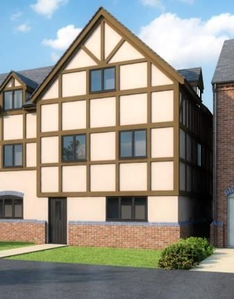 Thumbnail End terrace house for sale in Milford Green Court, Malkins Way, Shawbury Lane