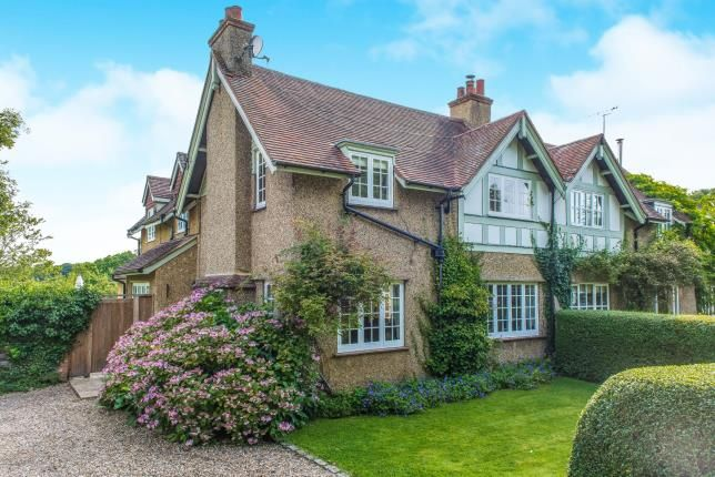 Thumbnail Semi-detached house for sale in West Horsley, Surrey