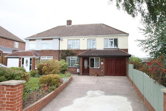 Thumbnail Semi-detached house for sale in Ninefoot Lane, Belgrave, Tamworth