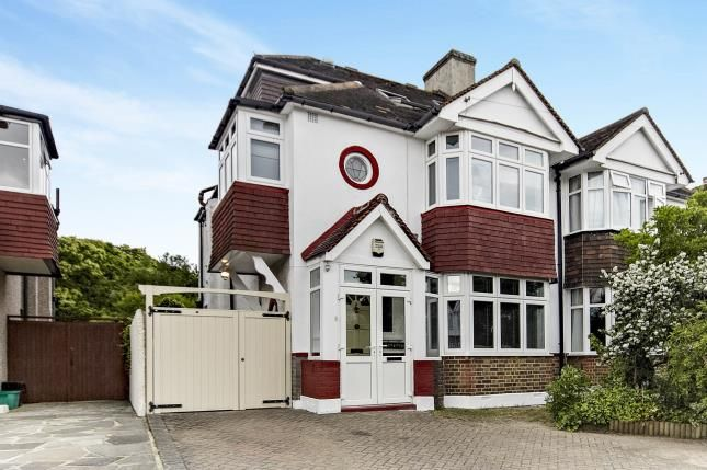 4 bed semi-detached house for sale in Pine Avenue, West Wickham, Kent, .