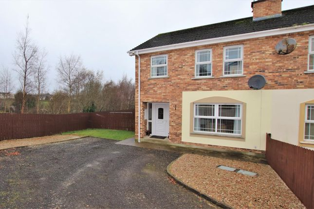 Thumbnail Semi-detached house for sale in 29 Danton Manor, Artigarvan, Strabane