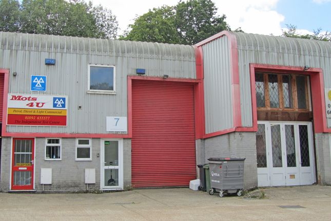 Thumbnail Light industrial to let in Unit 7 Millbrook Business Park, Sybron Way, Farningham Road, Crowborough