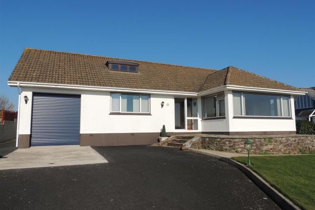Thumbnail Detached bungalow for sale in Duporth Bay, Duporth, St. Austell