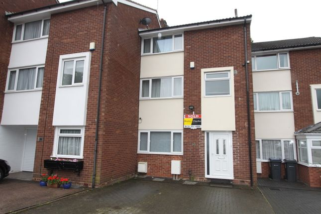 Thumbnail Town house to rent in St. Christophers, Handsworth Wood, Birmingham