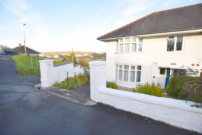 Thumbnail Semi-detached house for sale in Penparcau Road, Aberystwyth