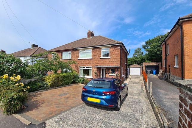 Thumbnail Semi-detached house for sale in Beverley Gardens, Bangor