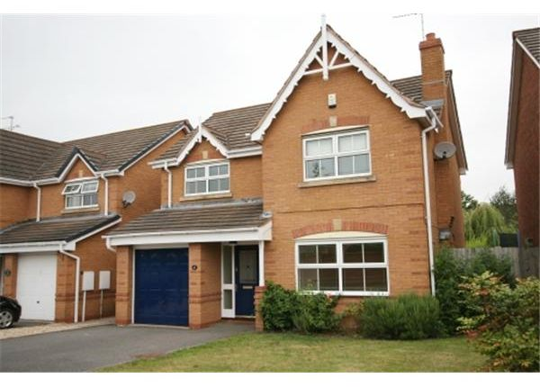 Thumbnail Detached house to rent in Beehive Avenue, Moira, Swadlincote