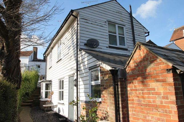 Thumbnail Terraced house for sale in Waterloo Road, Cranbrook, Kent