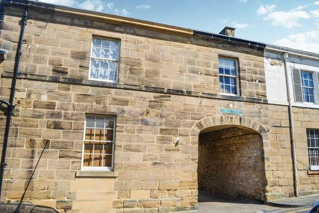 Thumbnail Town house for sale in Upper Howick Street, Alnwick