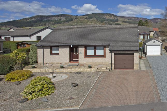 Thumbnail Detached bungalow for sale in Knockard Crescent, Pitlochry