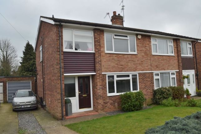 Thumbnail Semi-detached house for sale in Kilby Close, Garston, Watford