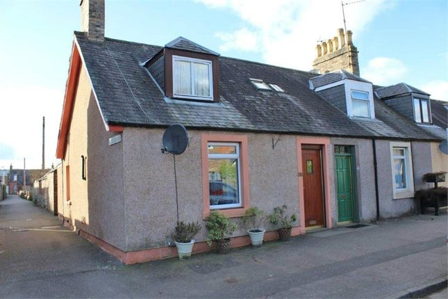Thumbnail End terrace house for sale in High Street, Edzell, Brechin, Angus