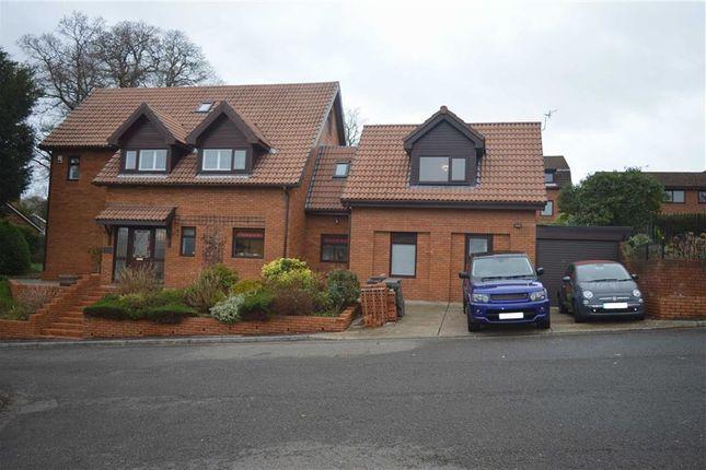 Thumbnail Detached house for sale in Llwynderw Drive, West Cross, Swansea