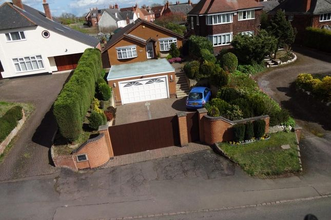 Thumbnail Detached bungalow for sale in Bradgate Road, Anstey, Leicester