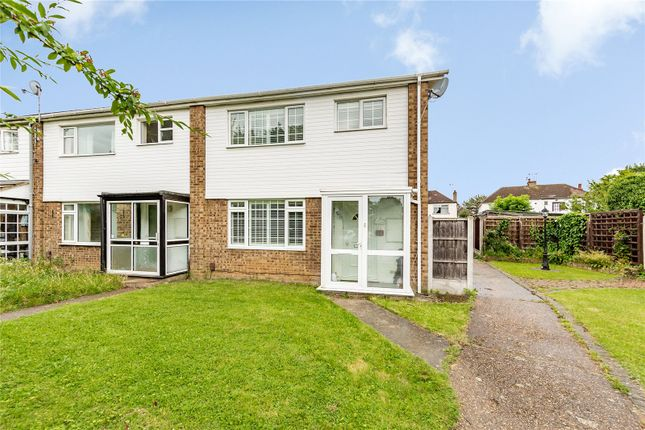 Thumbnail End terrace house for sale in Cumberland Close, Hornchurch