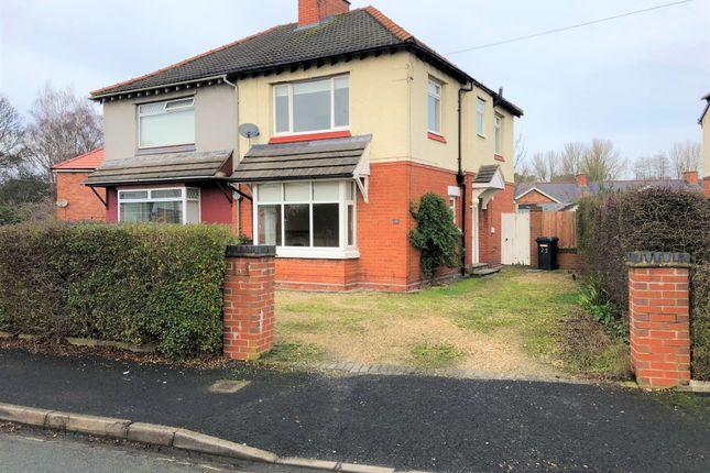 Thumbnail Semi-detached house to rent in 25 Davenham Crescent, Crewe, Cheshire