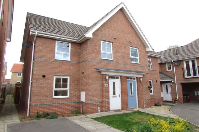 Thumbnail Semi-detached house to rent in Osprey Drive, Scunthorpe